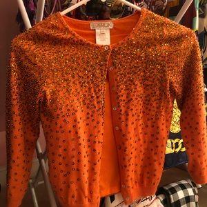LaRok soft 3/4 length sweater xs